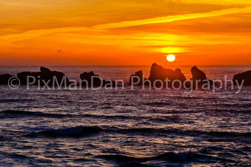 Oregon Coast Sunset 1
